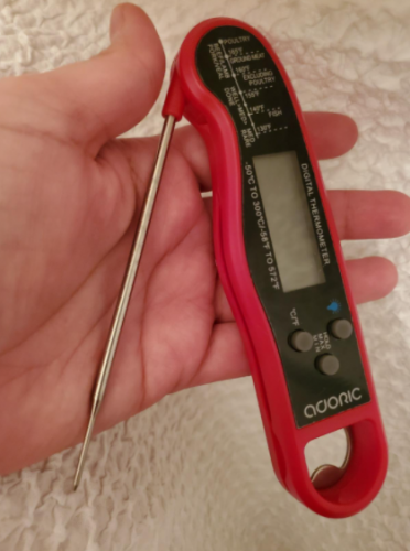 ADORIC Oven Thermometer, Digital Meat Thermometer, Instant Read photo review