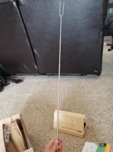 ADORIC Marshmallow Roasting Sticks, 8 Pack photo review