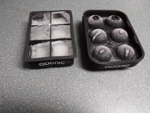 Adoric Silicone Ice Cube Trays set photo review