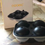 ADORIC Ice Trays, Silicone Ice Ball Maker photo review