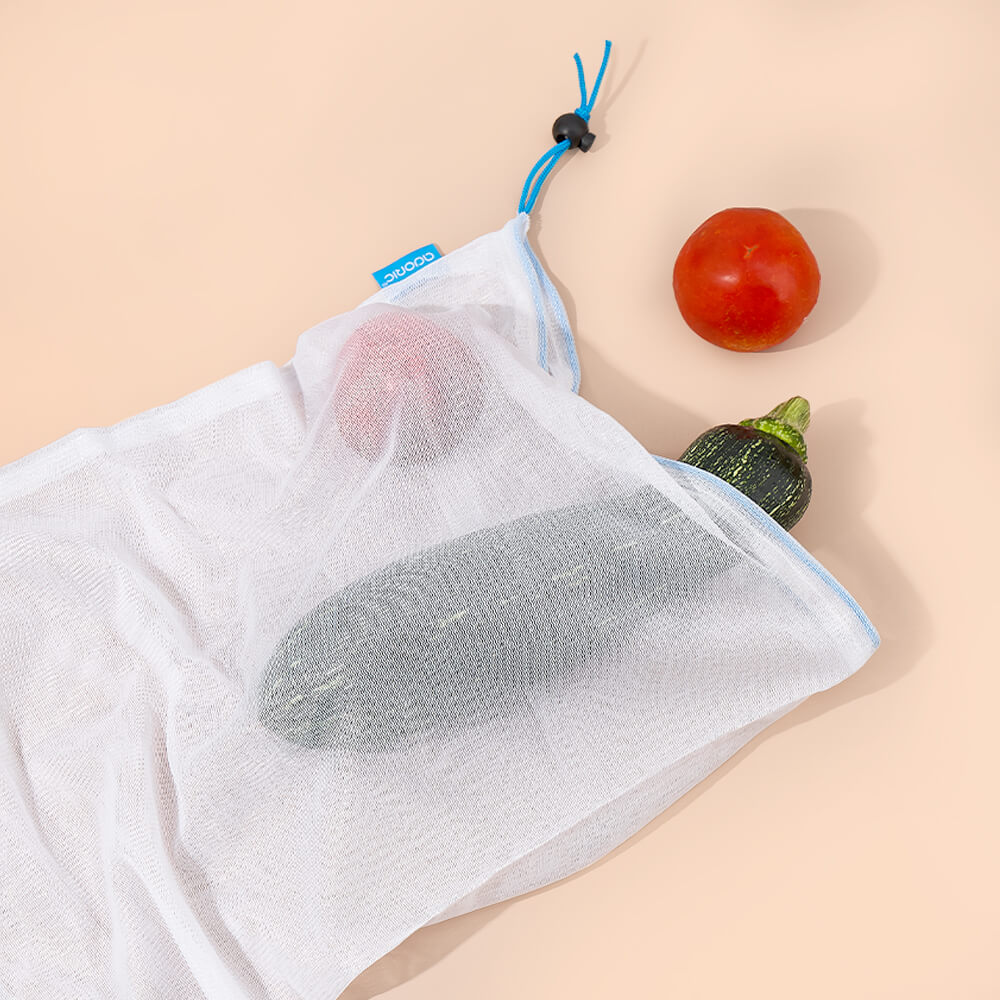 Adoric Food Storage Bags, Reusable Produce Bags, 9 Pack