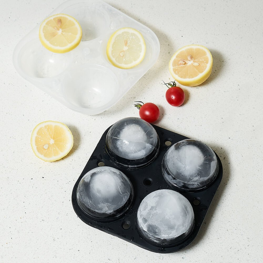 ADORIC Ice Trays, Silicone Ice Ball Maker