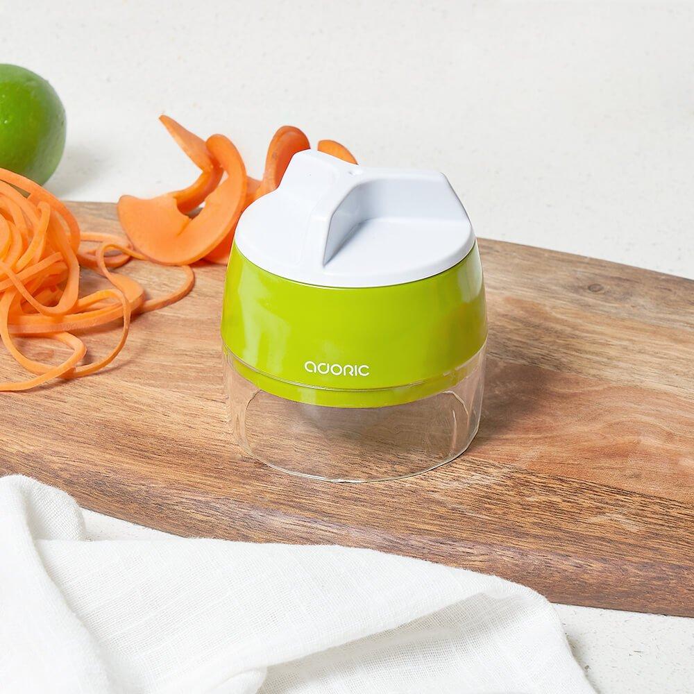 ADORIC Vegetable Chopper, 3 in 1 Vegetable Slicer